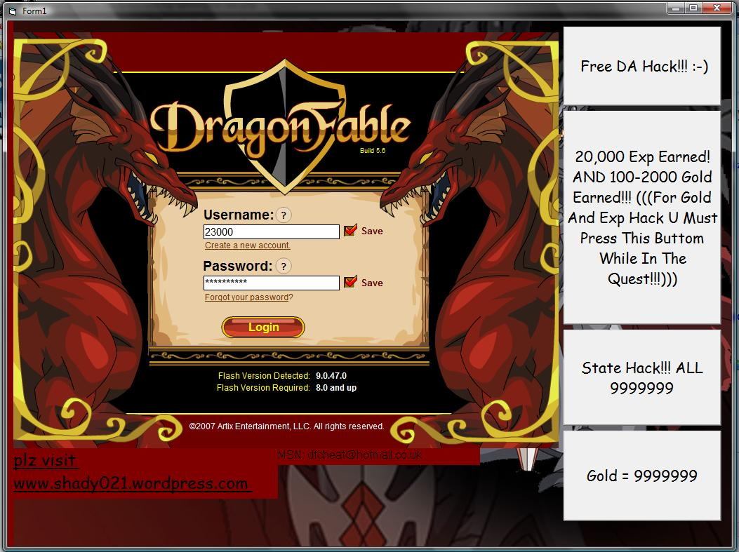 dragonfable trainer download